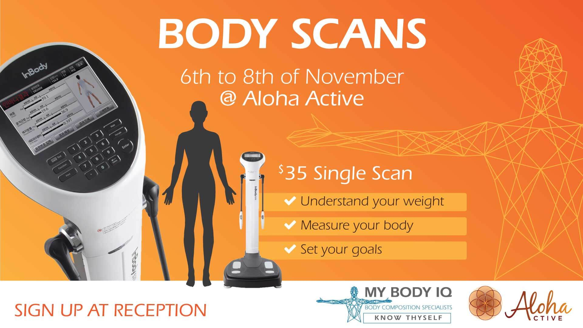 Body Composition Scanning November